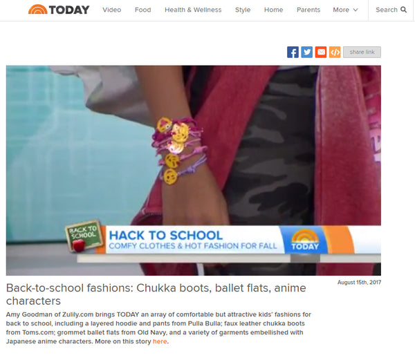 """Back to School in Style!"" on The Today Show!"