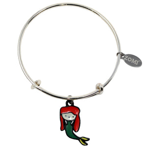 Little Mermaid Bracelet (Red)