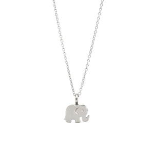 Kids Good Luck Elephant (Silver)