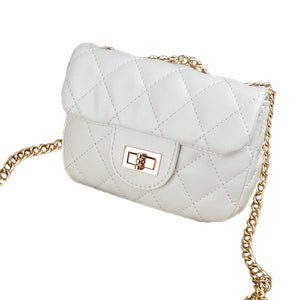 CLASSIC MINI BAG - WHITE - TINY TREATS BY ZOMI GEMS