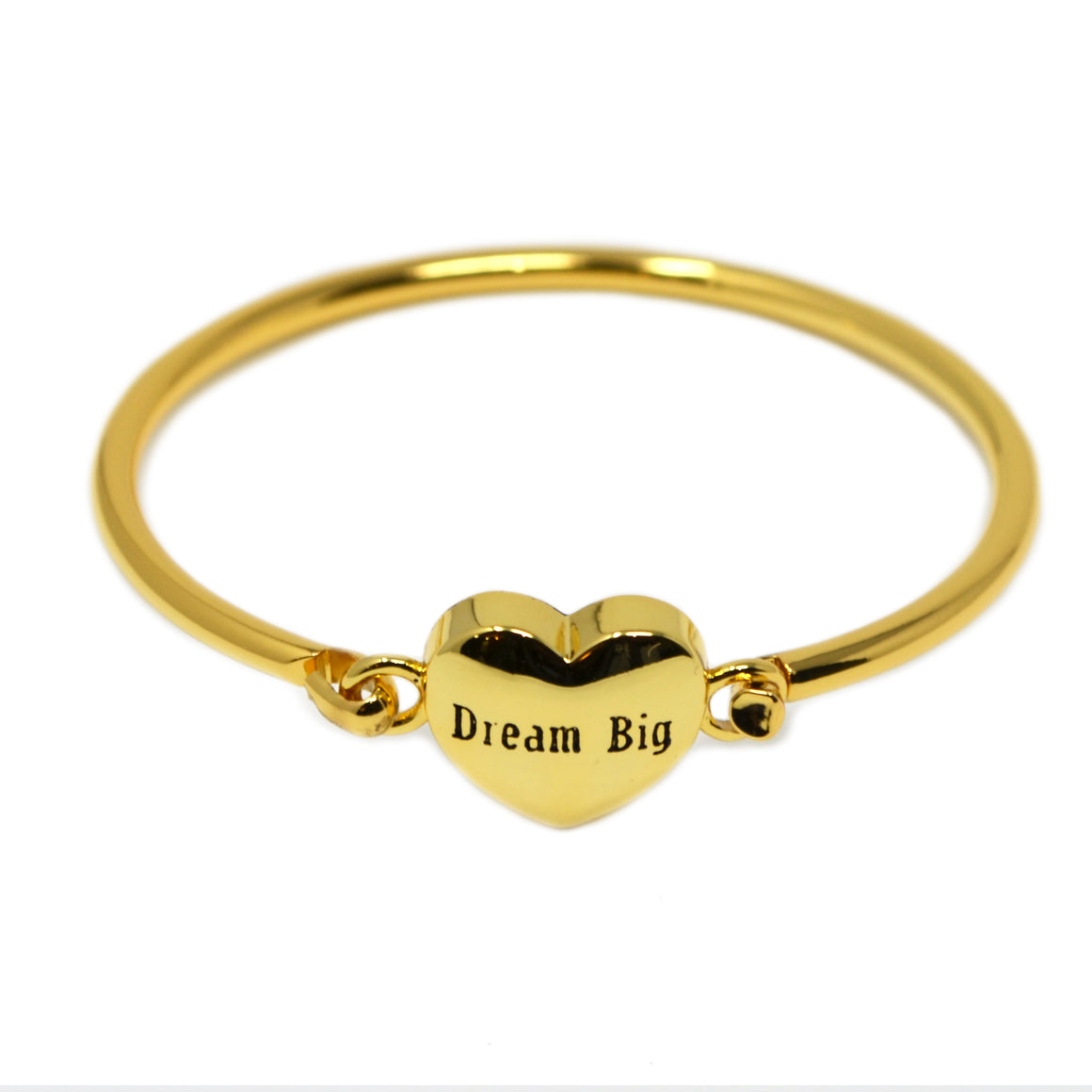 """Dream Big"" Baby Bracelet (Gold) - ZOMI GEMS sale, kids bracelet, gold jewelry"