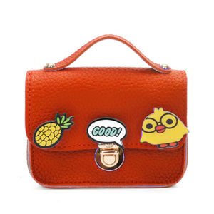 TINY MESSENGER BUCKLE MINI BAG