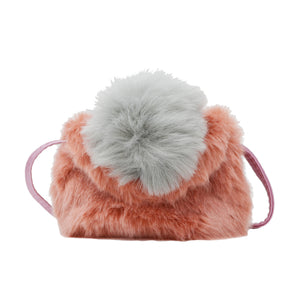 FLUFFY PINK POM POM BAG - TINY TREATS BY ZOMI GEMS