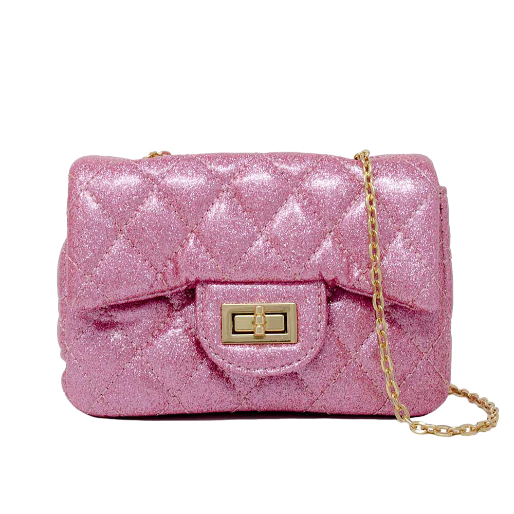 CLASSIC SPARKLE QUILTED MINI BAG