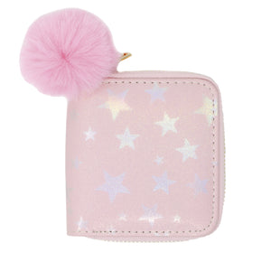 SHINY STAR WALLET - PINK