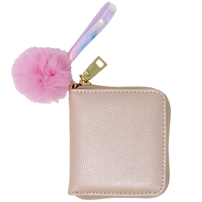 Rose Pink Leather Wallet