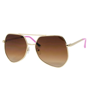 Gold Retro Sunglasses