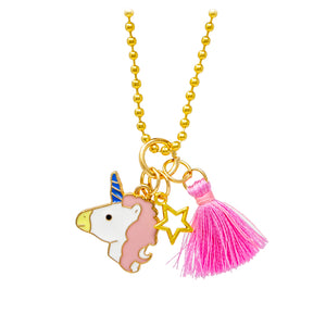 Unicorn Tassel & Star Necklace