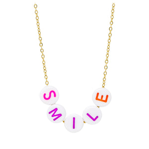 Smile Bead Necklace