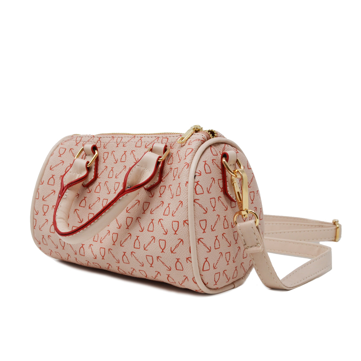 ANCHOR LOVE MINI DUFFEL HANDBAG