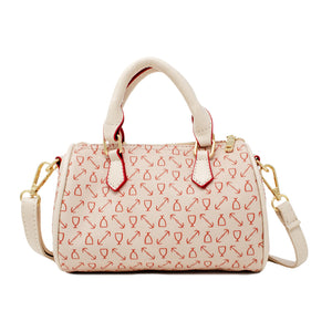 ANCHOR LOVE MINI DUFFLE HANDBAG