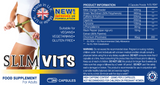 SlimVits x 1 Bottle 60 Pills - Burn more calories with less effort