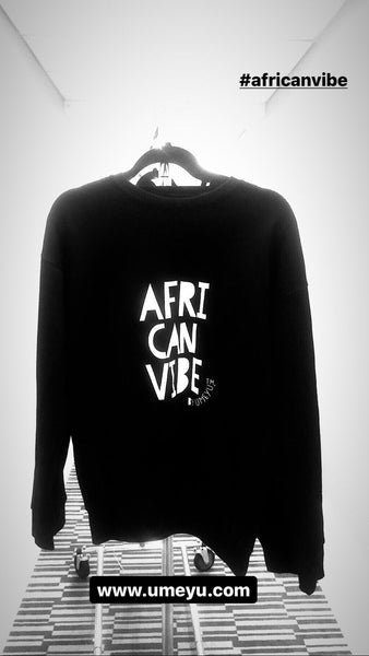 AFRI CAN VIBE CREW NECK