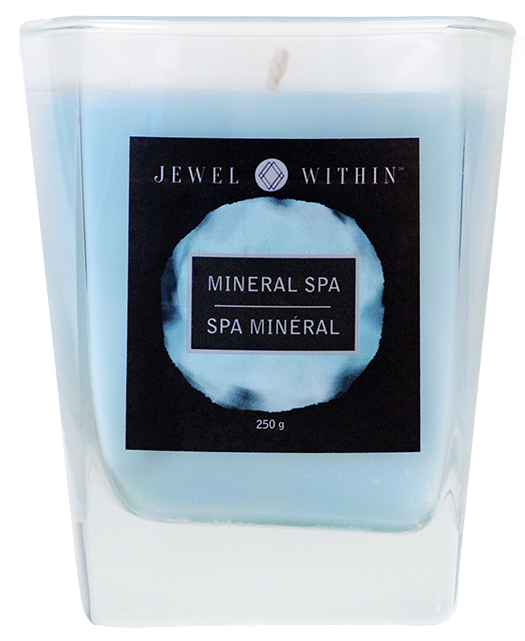 Jewelry in candles Mineral Spa hidden jewelry candle from Jewel Within. Soothing mineral aroma!
