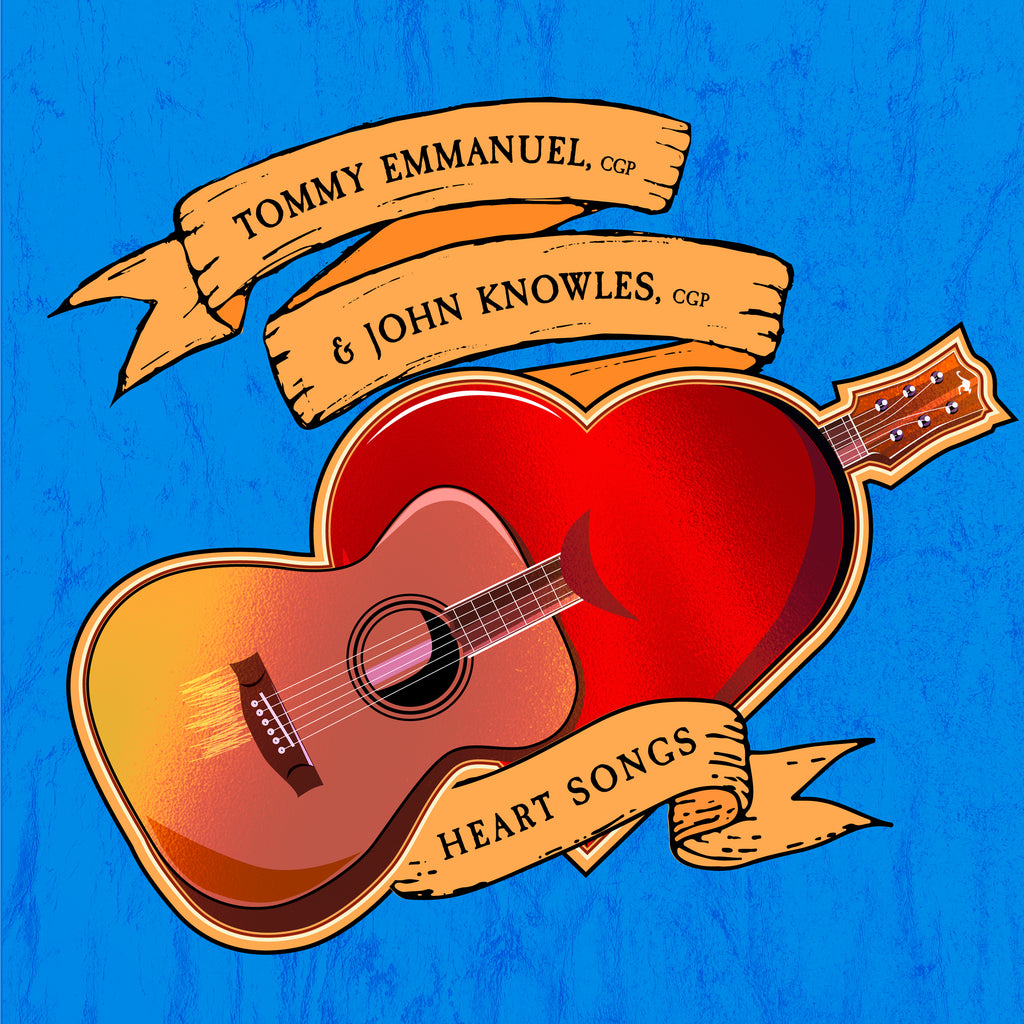 Image result for tommy emmanuel heart songs