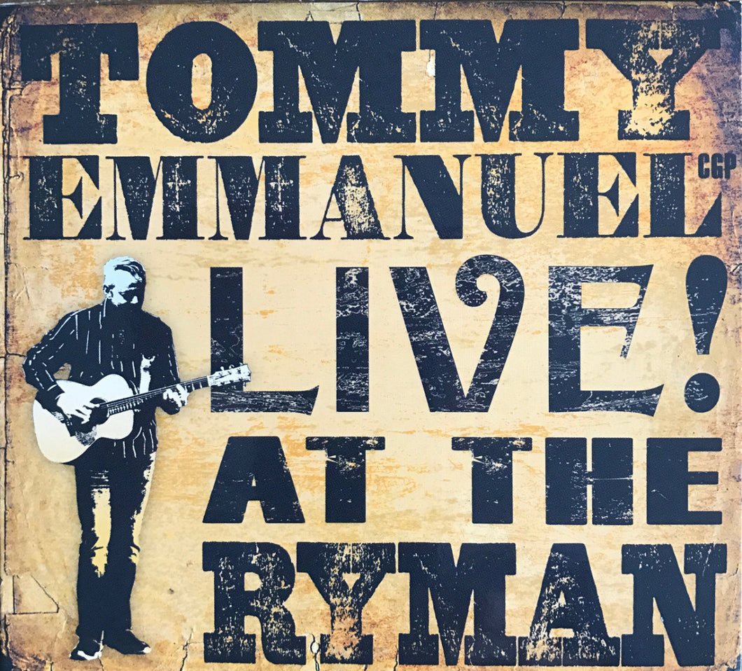 Live! At The Ryman CD (2017)