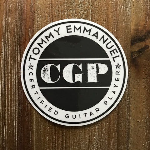 TE CGP Sticker
