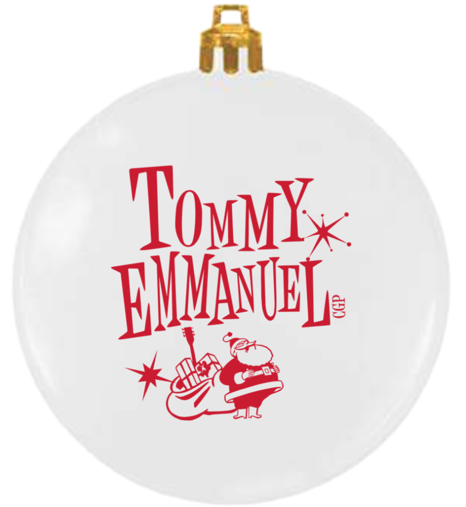 Tommy Emmanuel Christmas Ornament