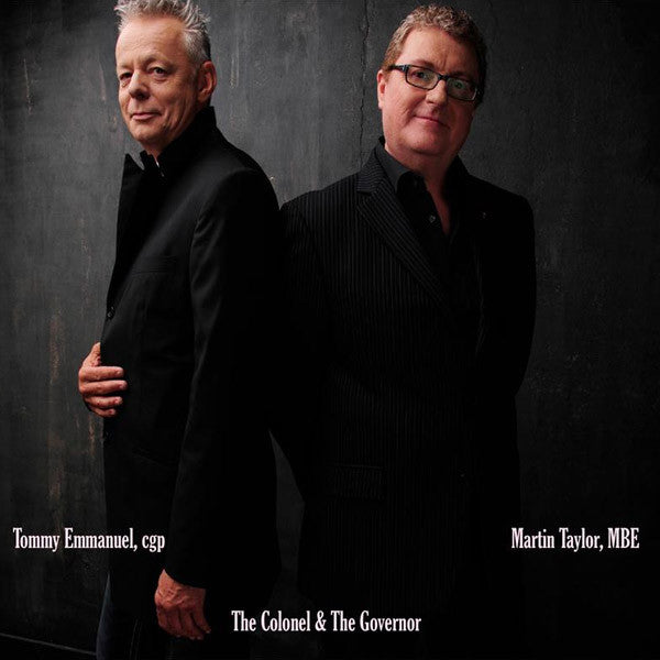 """The Colonel & The Governor"" CD (2013)"