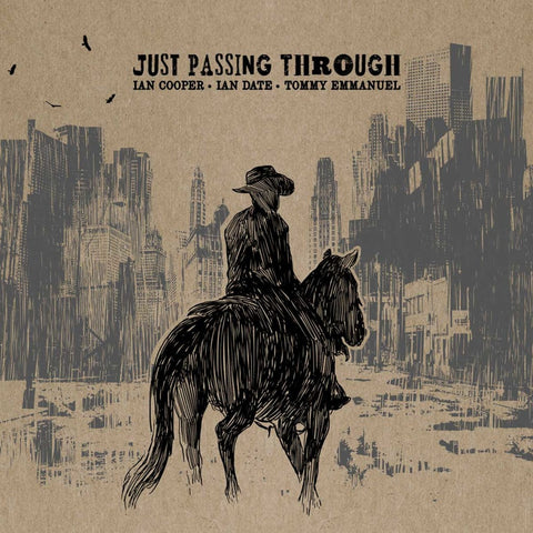 """Just Passing Through"" : Limited Edition CD (2015)"