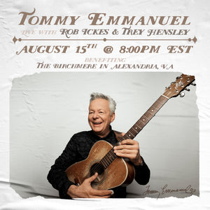 Livestream Concert for The Birchmere - August 15, 2020
