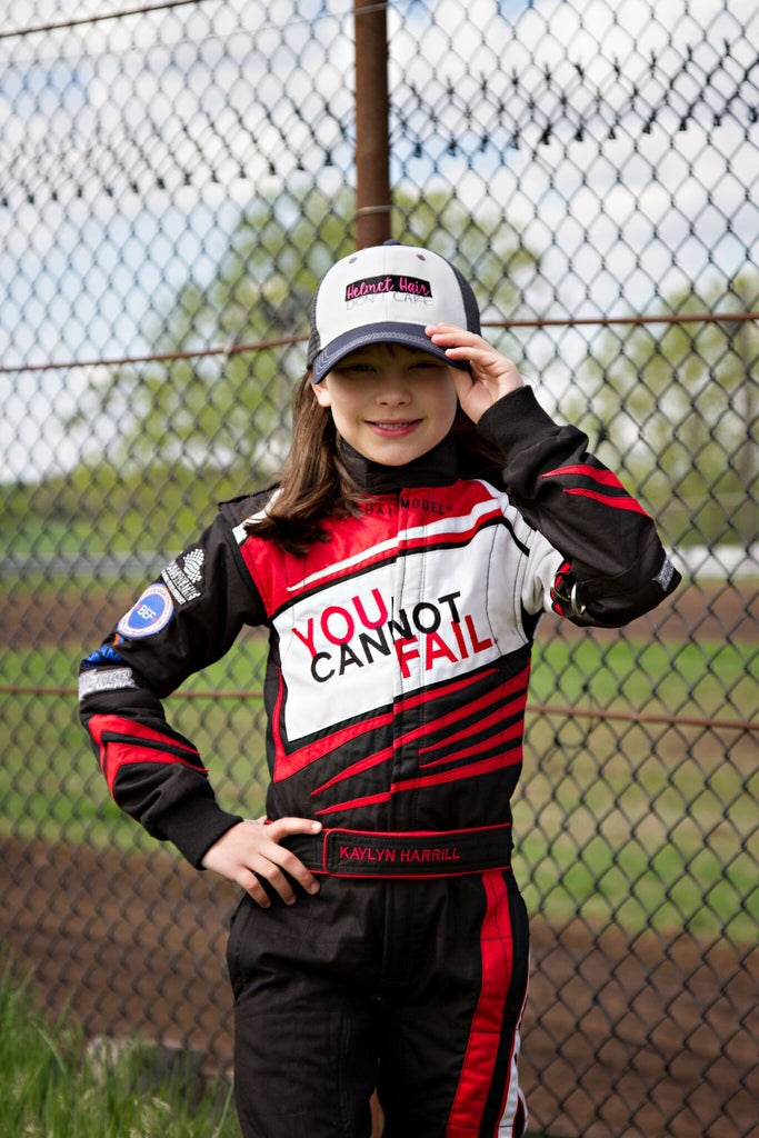 Racechick Brand Ambassador Kaylyn Harrill - Racing for Cystic Fibrosis Awareness