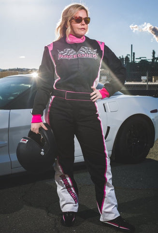 Women's Auto Racing Fire Rated Driving Suits