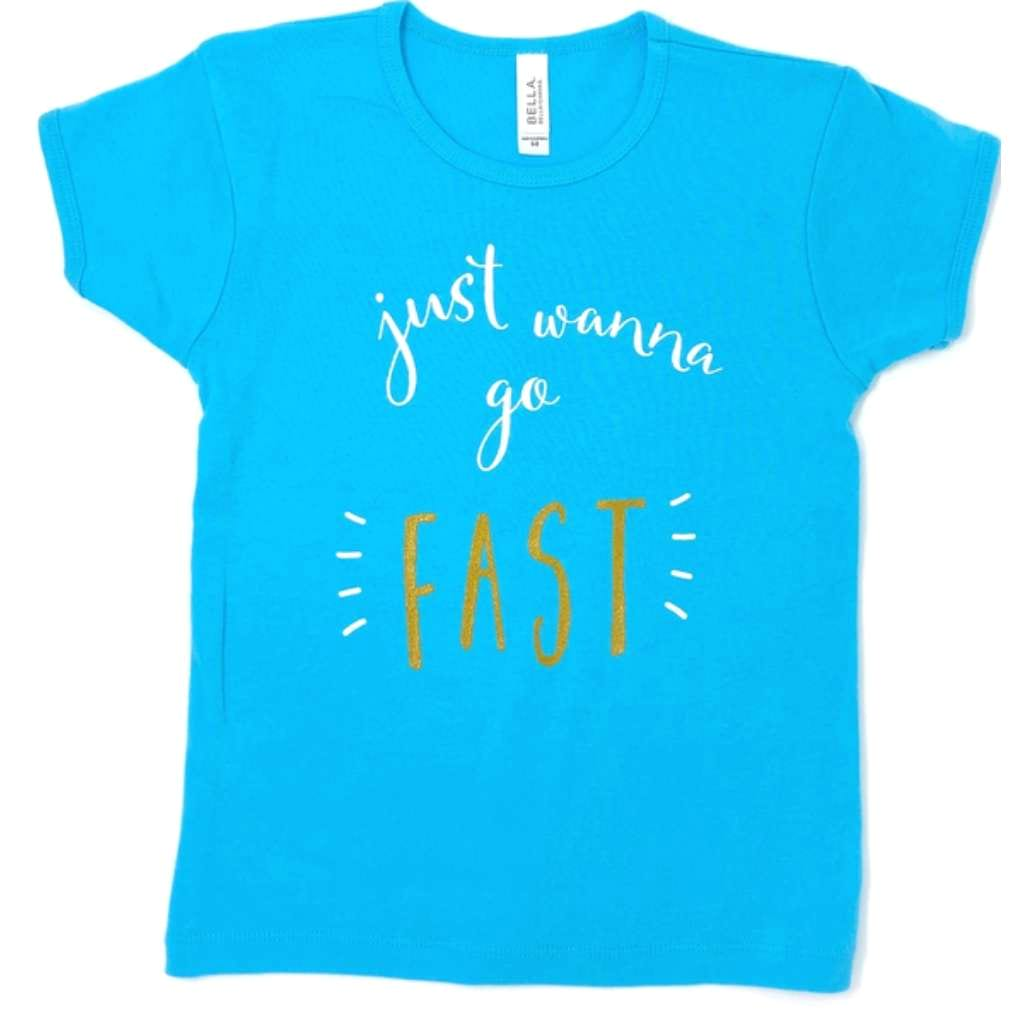 Kids Just Wanna Go Fast Tee - Racechick