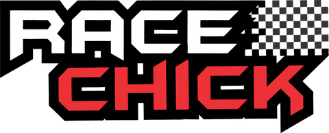 Racechick Decal - Red - Racechick