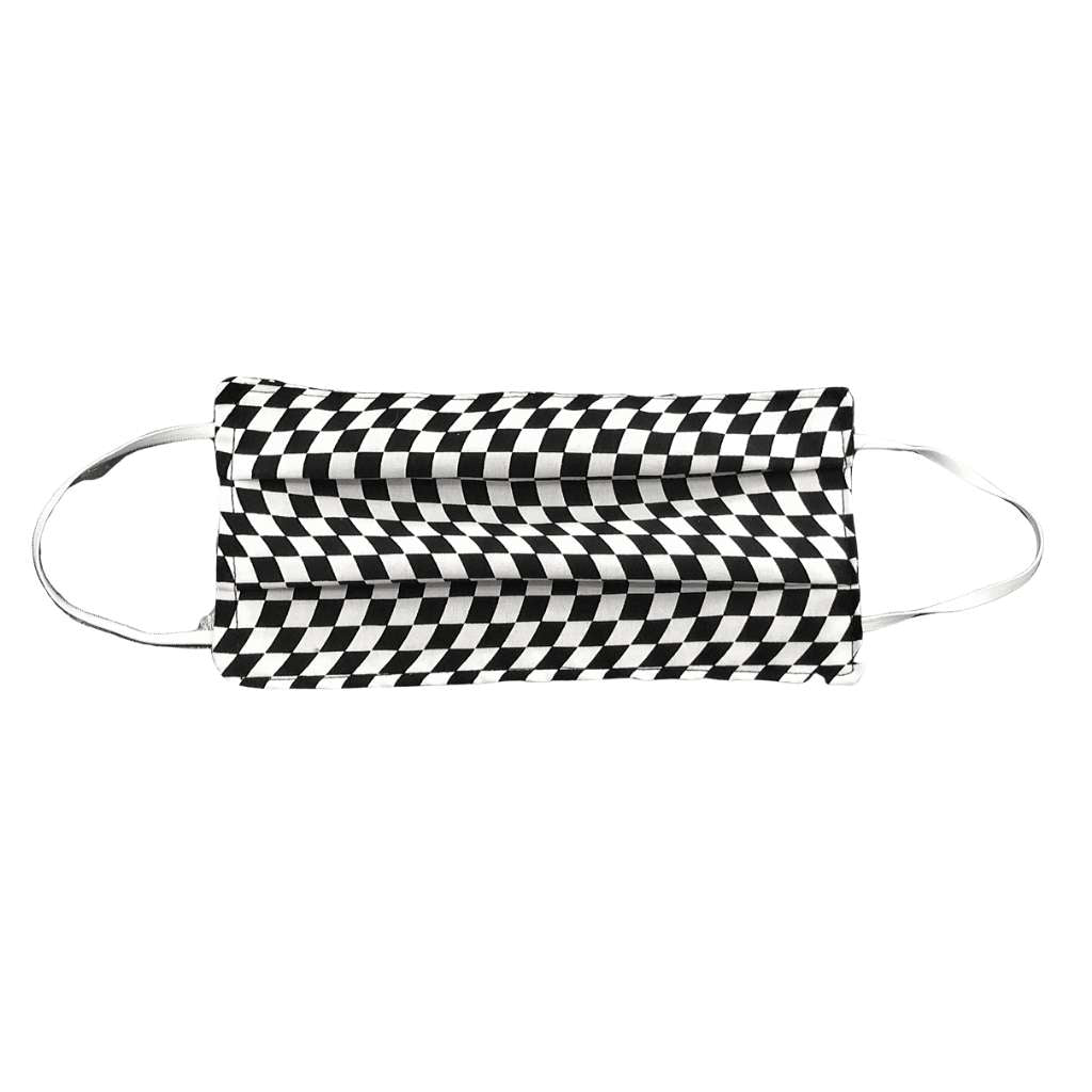 Checkered Flag Face Mask - Racechick