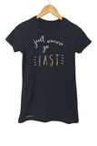 Just Wanna Go Fast Tee - Racechick