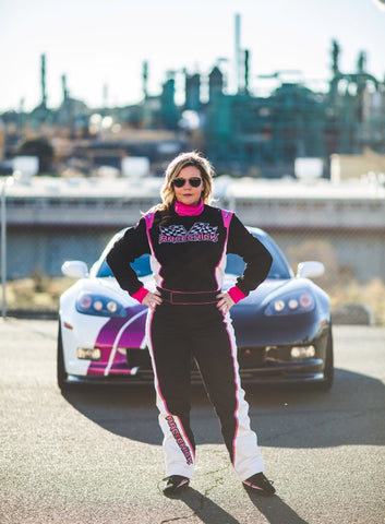 Racechick 'FIERCE' SFI-1 CUSTOM Racing Suit - Racechick