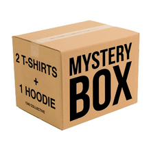 Load image into Gallery viewer, MYSTERY BOX - 2 TSHIRTS + 1 HOODIE