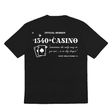 Load image into Gallery viewer, 1340 CASINO - TSHIRT (screen-printed)