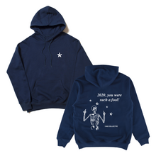 Load image into Gallery viewer, 1340 FOOL - HOODIE (NAVY BLUE)