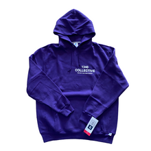 Load image into Gallery viewer, 1340 on RUSSELL PURPLE - HAND SCREEN PRINTED HOODIE