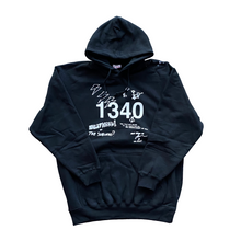 Load image into Gallery viewer, 1340 SUBURBS DOODLE - HEAVYWEIGHT HOODIE