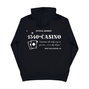 1340 CASINO EMBROIDERED - HOODIE