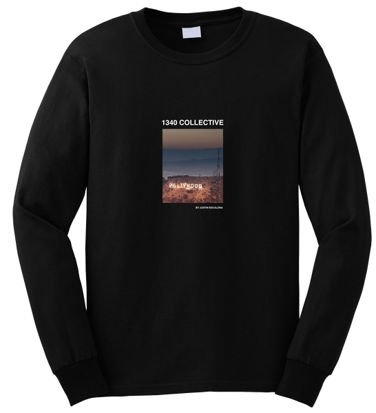1340 HOLLYWOOD ON FIRE LONG SLEEVE