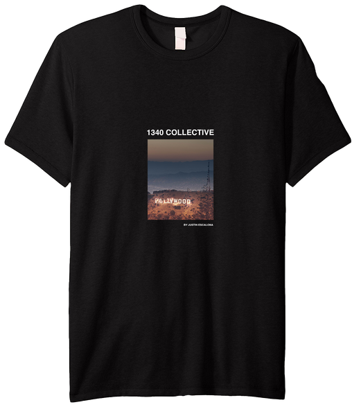 1340 HOLLYWOOD ON FIRE T-SHIRT