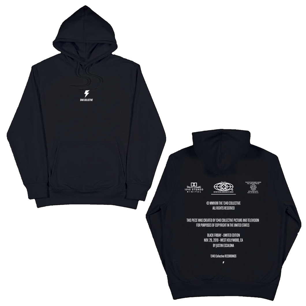 1340 LIGHTNING HOODIE (Black Friday Re-Release)