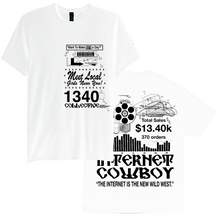 Load image into Gallery viewer, 1340 INTERNET COWBOY T-SHIRT