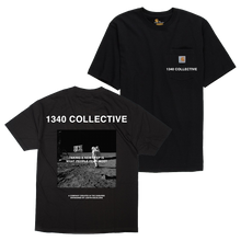 Load image into Gallery viewer, 1340 SPACE T-SHIRT (w/branded garment)