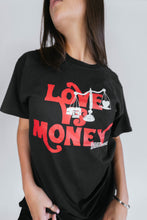 Load image into Gallery viewer, 1340 x CHAMPION LOVE VS MONEY T-SHIRT