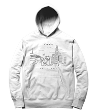Load image into Gallery viewer, LA x CHICAGO Hoodie