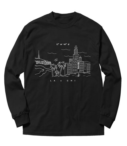 LA x CHICAGO Long Sleeve