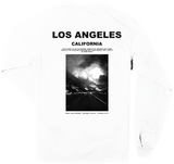 1340 COLLECTIVE x CHAMPION FIREFORNIA LONG SLEEVE SHIRT