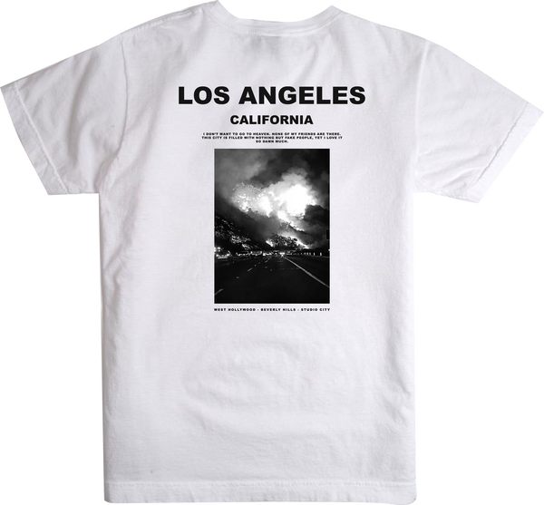1340 COLLECTIVE x CHAMPION FIREFORNIA T-SHIRT
