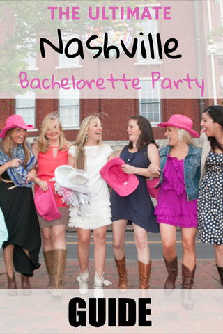 Nashville Bachelorette Party Guide