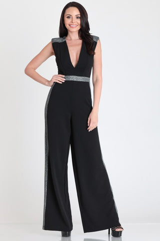 Having The Time Of My Life Jumpsuit Black
